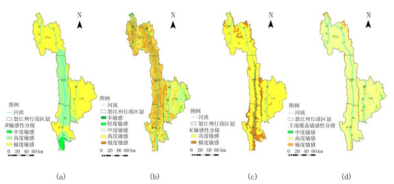基于gis的区域土壤侵蚀敏感性评价——以怒江州为例